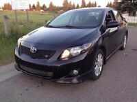 2009 Toyota Corolla Sport Sedan 104KM Mint Condition!
