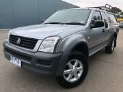2006 Holden Rodeo RA MY06 Upgrade LX Silver 4 Speed Automatic Cab Chassis Hoppers Crossing Wyndham Area Preview