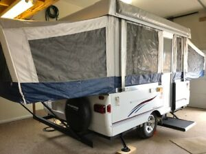 10' Pop Up Camper Trailer