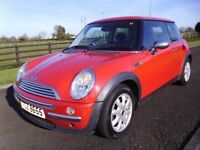 2003 MINI 1.6 ONE ### MOT/D JANUARY 2018 ### 88000 MILES ###