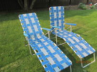 Lounge lawn chairs