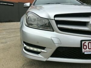 2011 Mercedes-Benz C250 C204 BlueEFFICIENCY 7G-TR Silver Semi Auto Coupe