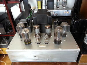 Stereo Tube power amplifier with 6L6 tubes