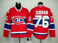 Brand new P.K. SUBBAN RBK Montréal Canadiens Jersey SIZE 50 (L)