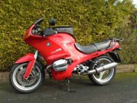 BMW R1100RS '94/M 89k mls. **CHEAP TOURER WITH NEW MOT**