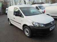 Volkswagen Caddy 1.6TDI 75PS STARTLINE VAN DIESEL MANUAL WHITE (2013)