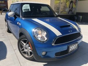 2007 MINI Cooper S - LOW KM Panoramic Sunroof