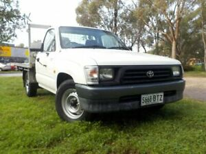2000 Toyota Hilux RZN149R 4x2 5 Speed Manual Cab Chassis Pooraka Salisbury Area Preview