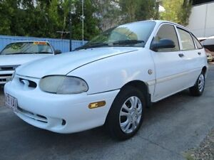 1997 Ford Festiva WD GLi White 3 Speed Automatic Hatchback Southport Gold Coast City Preview