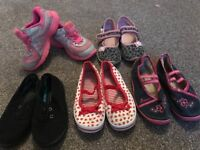 Girls bundle size 10 Shoes, trainers (Nike,Mothercare etc)