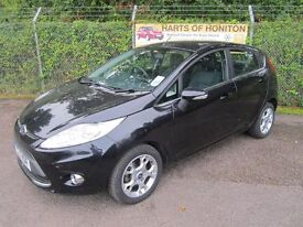Ford Fiesta 1.4 Zetec 5DR Auto (panther black) 2011