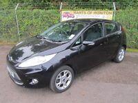 Ford Fiesta 1.4 Zetec 5DR Auto (panther black) 2011