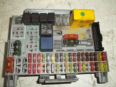 vauxhall g fuse box fuse box for sale  new and used astra mk4 fuse box layout mk4 astra convertible fuse box