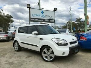 2010 Kia Soul AM MY2010 3 White Automatic Hatchback Southport Gold Coast City Preview