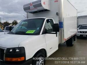 "2017 GMC Savana Commercial Cutaway 4500 Van 159"" REEFER 16'"