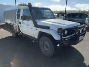 2003 Toyota Landcruiser HZJ79R French Vanilla 5 Speed Manual Cab Chassis Atherton Tablelands Preview