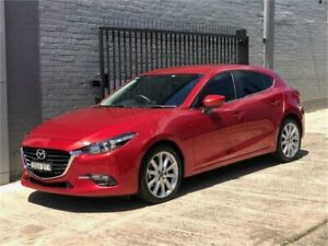 2017 Mazda 3 BN5438 SP25 SKYACTIV-Drive Red 6 Speed Sports Automatic Hatchback
