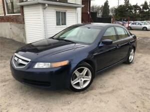 2005 Acura TL 206,000km Automatique CUIR / TOIT OUVRANT / MAGS !