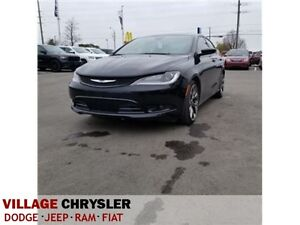 2016 Chrysler 200 S|NAV|PANOSUROOF|LEATHER|REMOTE