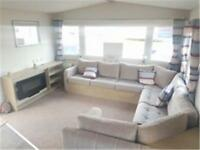 Brand New static caravan for sale, Sandy Bay, Northumberland coast