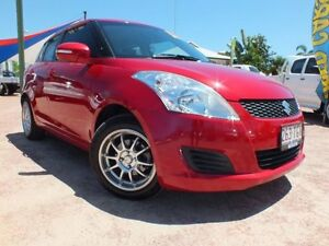 2011 Suzuki Swift FZ GA Red 5 Speed Manual Hatchback Rosslea Townsville City Preview