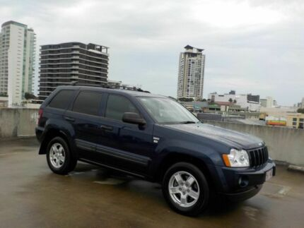 2008 Jeep Grand Cherokee WH MY2007 Laredo Blue 5 Speed Automatic Wagon