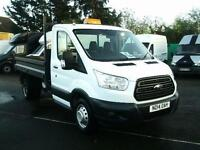 Ford Transit T350 D/CAB TIPPER TDCI 100PS DIESEL MANUAL WHITE (2014)