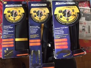 Mastercraft Clip Tech interchargeable tool pouch and org.syst.