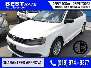 VOLKSWAGEN JETTA - APPROVED IN 30 MINUTES! - ANY CREDIT LOANS