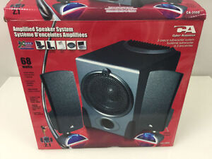 Speaker system for PC and more!