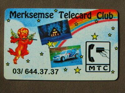 Prepaid Kaart MINT Ongebruikt Belgie  -  Merksemse Telecard Club  opl 500 RRR