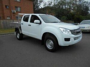 2014 Isuzu D-MAX TF MY14 SX HI-Ride (4x2) White 5 Speed Automatic Crew Cab Utility Bankstown Bankstown Area Preview