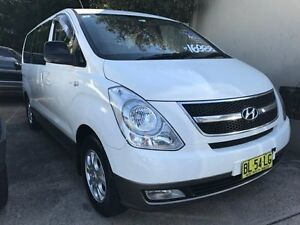 2009 Hyundai iMAX TQ-W TQ-W Wagon 8st 5dr Auto 4sp 802kg 2.4i White 4 Speed Automatic Wagon Croydon Burwood Area Preview