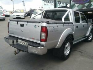 2009 Nissan Navara D22 MY08 ST-R (4x4) Silver 5 Speed Manual Dual Cab Pick-up Greenacre Bankstown Area Preview