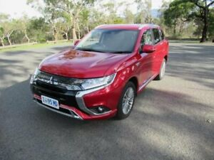 2019 Mitsubishi Outlander ZL MY20 PHEV AWD ES ADAS Red 1 Speed Automatic Wagon Hybrid Glenorchy Glenorchy Area Preview
