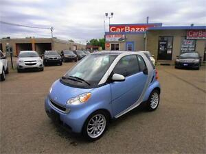 2011 MERCEDES SMART FORTWO 1.0L GAS SAVER AUTO AIR ROOF LOADED
