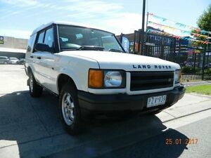 2000 Land Rover Discovery II 00.5MY Td5 White 5 Speed Manual Wagon Williamstown North Hobsons Bay Area Preview