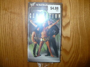 Generation X Wrestling VHS Video