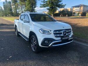 2017 Mercedes-Benz X-Class 470 X250d 4MATIC Power Bering White Metallic 6 Speed Manual Utility Port Macquarie Port Macquarie City Preview