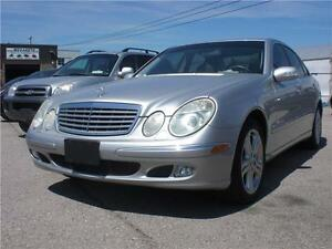 2004 Mercedes-Benz E-Class  140K $9995 CERT/E-TESTED
