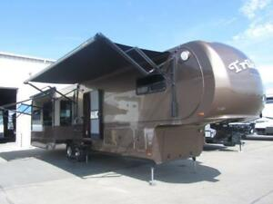 2013 41 FT DYNAMAX TRILOGY 3850D3 5TH WHEEL