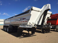 Cancade End Dump Gravel Trailer