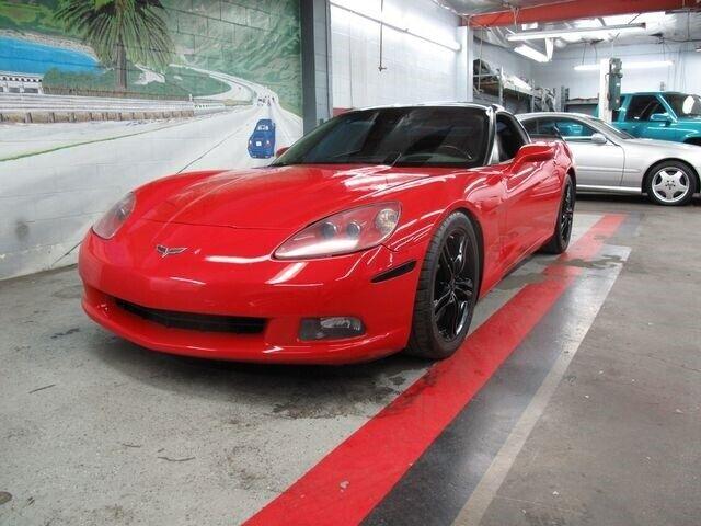 2008 Red Chevrolet Corvette   | C6 Corvette Photo 3