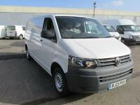 Volkswagen Transporter T30 2.0 Tdi LWB 102Ps Van DIESEL MANUAL WHITE (2013)