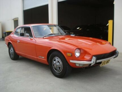 1975 Datsun 260Z 2+2 Sports Orange 3 Speed Automatic Coupe