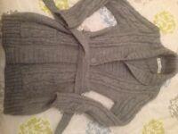 Zara grey long cardigan