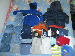 25 Items Boys Size 4 Clothes lot Spring Jacket ~NEED GONE!!