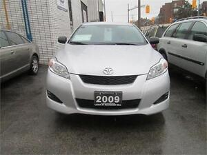 2009 Toyota Matrix, only 123km, serviced up to date in Toyota.