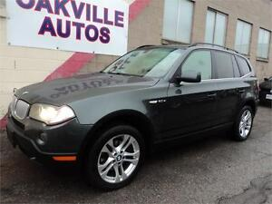 2008 BMW X3 3.0si AWD PANORAMIC ROOF HTD STEERING PREMIUM safe