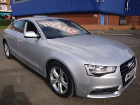 "2013 AUDI A5 2.0TDI ( 177ps ) SPORTBACK SE LEATHER """" £30 A YEAR ROAD TAX """""